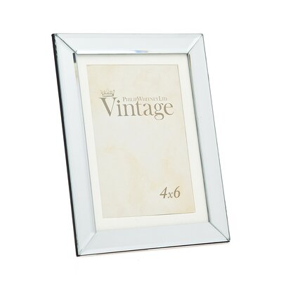 Plain Vintage Mirror Picture Frame