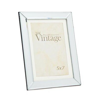 Plain Vintage Mirror Picture Frame Size: 5 x 7