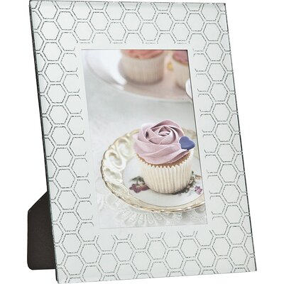 Philip Whitney Honeycomb Glitter Picture Frame 21254