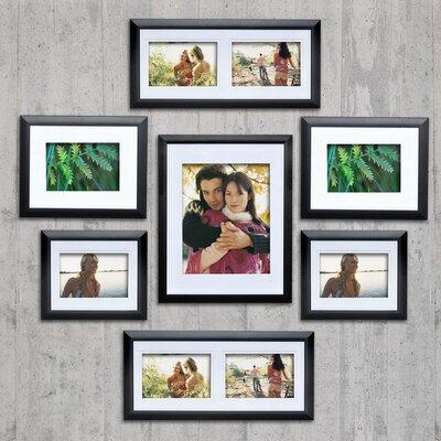7 Piece Matte Picture Frame Set