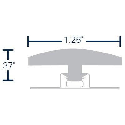 The New Standard 0.37 x 1.26 x 70.87 T-Molding in Promenade