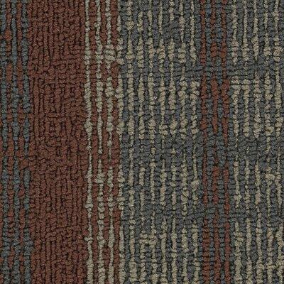 Hollytex Modular Impromptu 24 x 24 Carpet Tile in Curve Ball