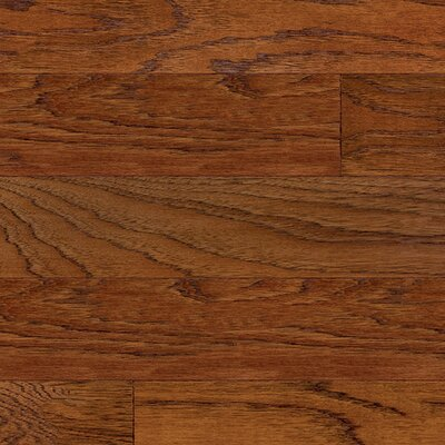 Devotion 5 Oak Hardwood Flooring in Aged Mahogany