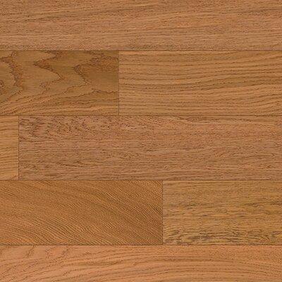 Devotion 5 Oak Hardwood Flooring in Caramel Crisp
