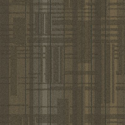 Buildup 24 x 24 Carpet Tile in Brown/Beige/Gray