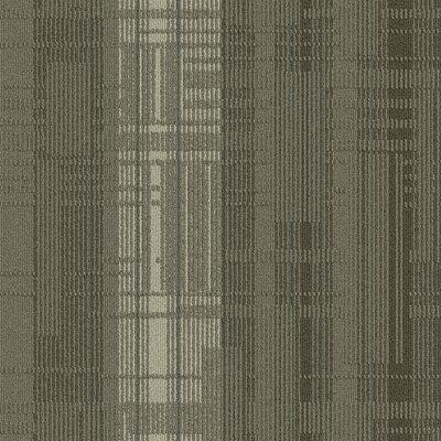 Buildup 24 x 24 Carpet Tile in Gray/Brown/Tan/Blue