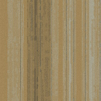 Persistence 24 x 24 Carpet Tile in Beige/Brown/Gray