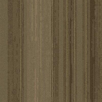 Persistence 24 x 24 Carpet Tile in Tan/Brown/Gray