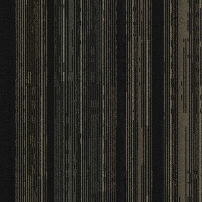 Persistence 24 x 24 Carpet Tile in Gray/Black/Tan