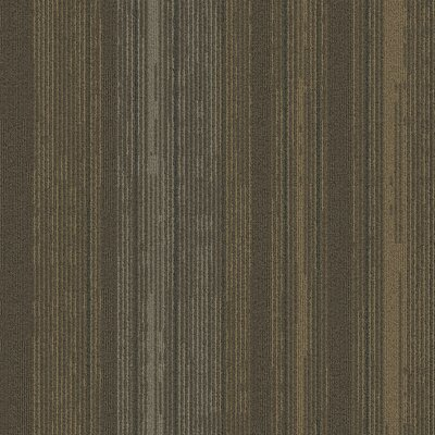 Persistence 24 x 24 Carpet Tile in Beige/Brown/Green