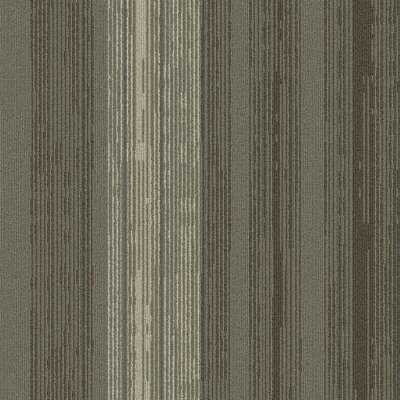 Persistence 24 x 24 Carpet Tile in Gray/Brown/Tan/Blue