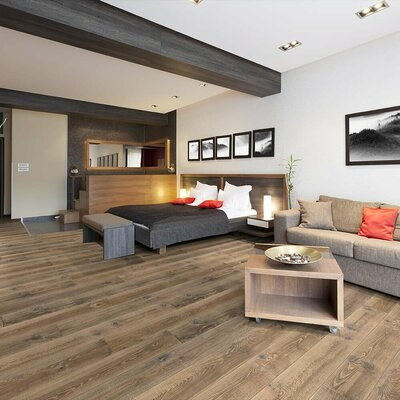 Marvel 8 Oak Hardwood Flooring in Natural