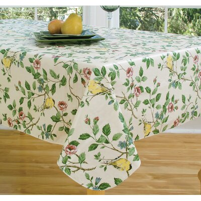 Serene Morning Vinyl Tablecloth