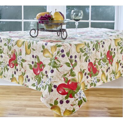 Everyday Fruits 70 Round Vinyl Tablecloth
