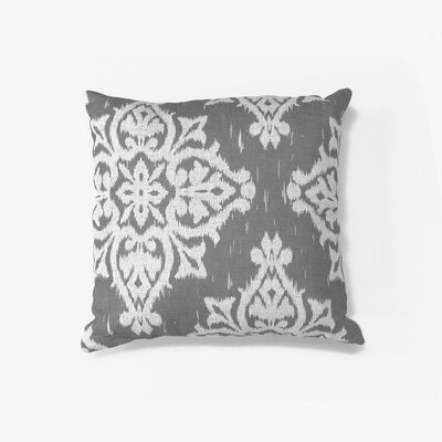 Medina Decorative Throw Pillow Color: Gray