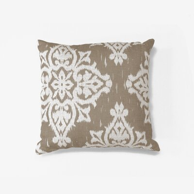 Medina Decorative Throw Pillow Color: Taupe