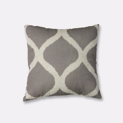 Luna Decorative Throw Pillow Color: Light Gray