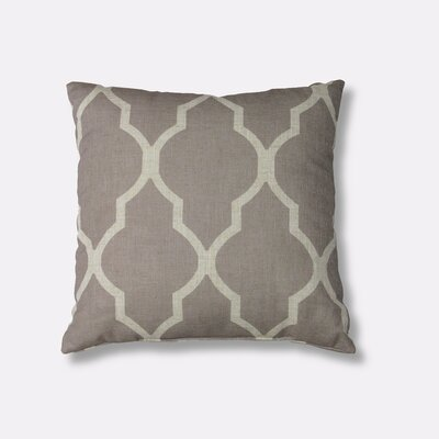 Medalia Decorative Throw Pillow Color: Stone