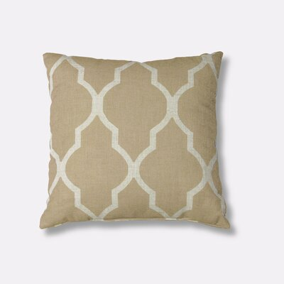 Medalia Decorative Throw Pillow Color: Toasted Wheat