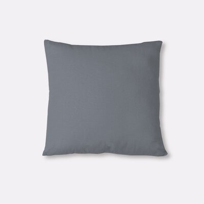 Essex Knife Edge Decorative Throw Pillow Color: Gray