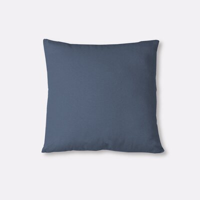 Essex Knife Edge Decorative Throw Pillow Color: Blue