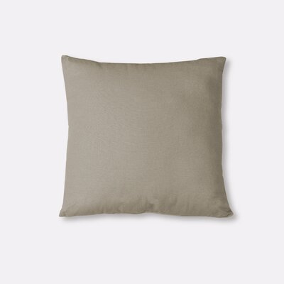 Essex Knife Edge Decorative Throw Pillow Color: Wheat