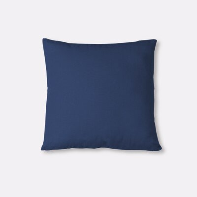 Essex Knife Edge Decorative Throw Pillow Color: Indigo