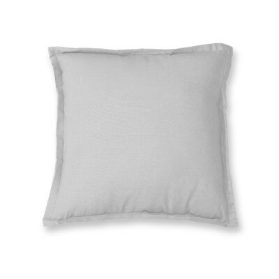 Essex Flange Decorative Throw Pillow Color: White
