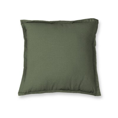 Essex Flange Decorative Throw Pillow Color: Twig