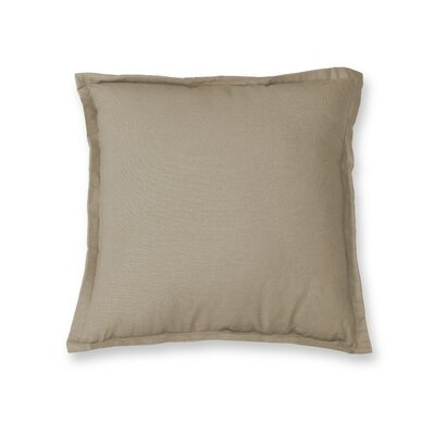 Salvato Flange Decorative Throw Pillow Color: Wheat