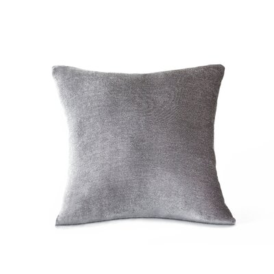 Victoria Throw Pillow Color: Silver