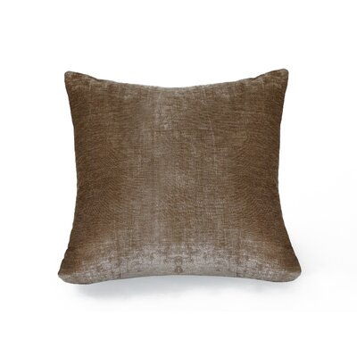 Victoria Throw Pillow Color: Taupe