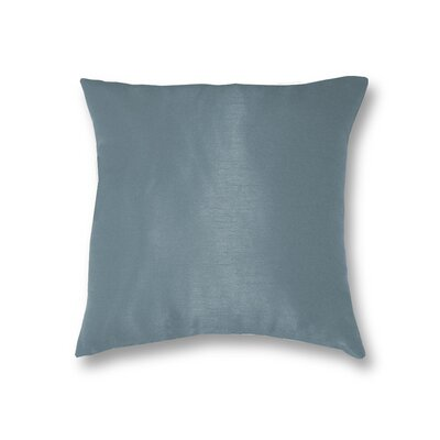 All Seasons Throw Pillow Color: Dusty Blue