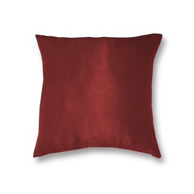 All Seasons Throw Pillow Color: Rouge