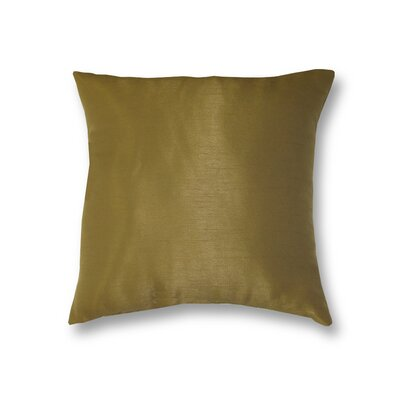 All Seasons Throw Pillow Color: Antique Gold