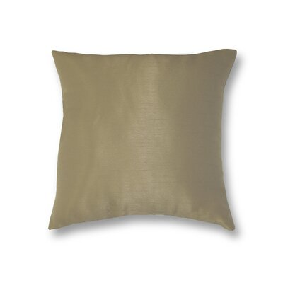 All Seasons Throw Pillow Color: Taupe