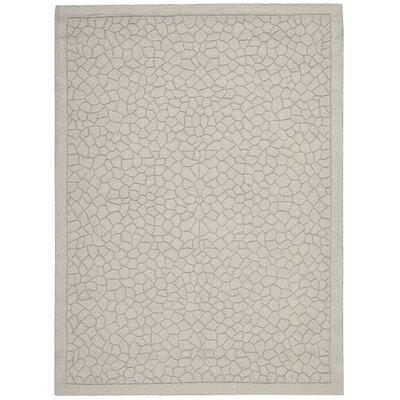 Barcelona Hand-Tufted Gray Area Rug Rug Size: 53 x 74