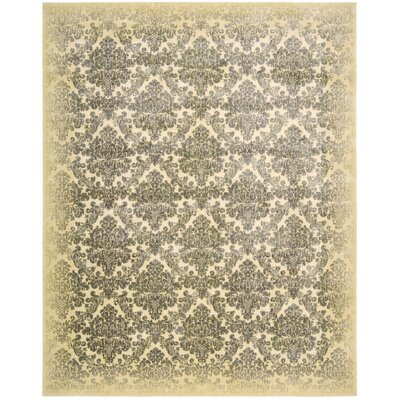 Nate Ivory Area Rug Rug Size: Rectangle 56 x 75