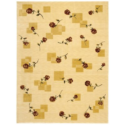 Yajaira Beige Area Rug Rug Size: Rectangle 96 x 13