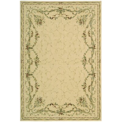 Franklyn Ivory Area Rug Rug Size: Rectangle 12 x 18