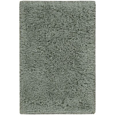 Wallaceton Hand-Woven Aqua Area Rug Rug Size: Rectangle 36 x 56