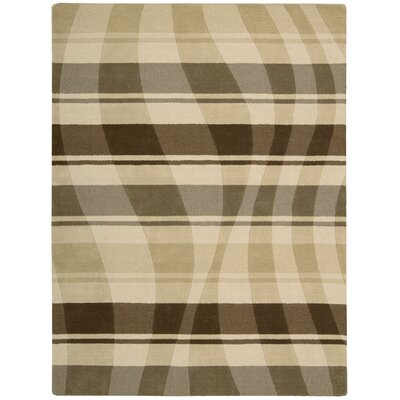 Elements Pg Beige/Brown Area Rug Rug Size: 8 x 11