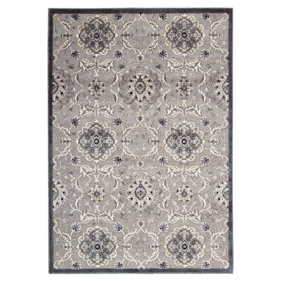 Talanna Gray Area Rug Rug Size: Rectangle 36 x 56