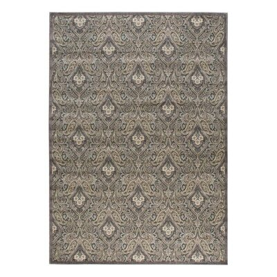 Graphic Illusions Floral Area Rug Rug Size: 53 x 75