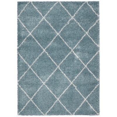 Kalypso Aqua Area Rug Rug Size: Rectangle 82 x 10