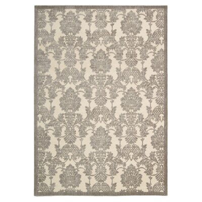 Riffe Ivory/Latte Area Rug Rug Size: Rectangle 23 x 39