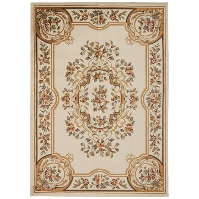 Lukeson Beige Area Rug Rug Size: Rectangle 311 x 510