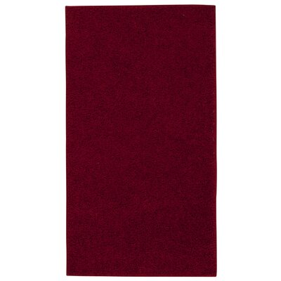 Ribeiro Red Rug Rug Size: Rectangle 5 x 7