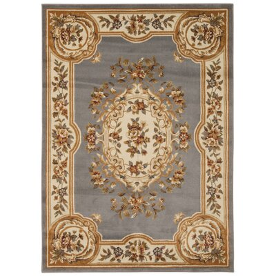 Lukeson Brown Area Rug Rug Size: 53 x 73
