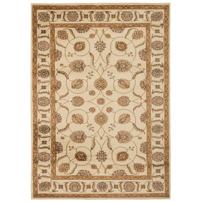 Lukeson Beige Ikat Area Rug Rug Size: Rectangle 311 x 510
